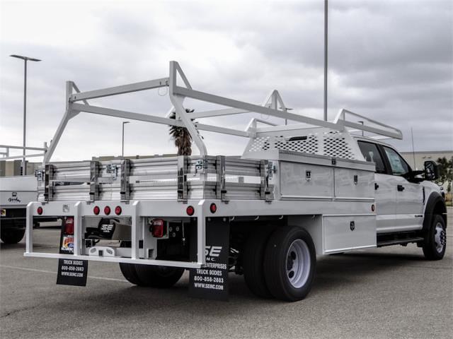 2021 Ford F-450 Crew Cab DRW 4x2, Scelzi CTFB Contractor Body #FM1626 - photo 4