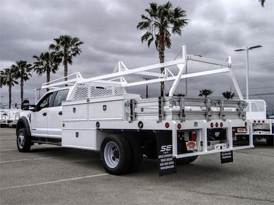2021 Ford F-450 Crew Cab DRW 4x2, Scelzi CTFB Contractor Body #FM1626 - photo 2