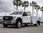 2021 Ford F-450 Crew Cab DRW 4x2, Scelzi CTFB Contractor Body #FM1626 - photo 1