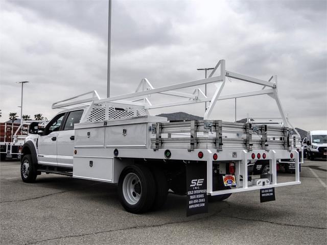 2021 Ford F-450 Crew Cab DRW 4x2, Scelzi CTFB Contractor Body #FM1673 - photo 2