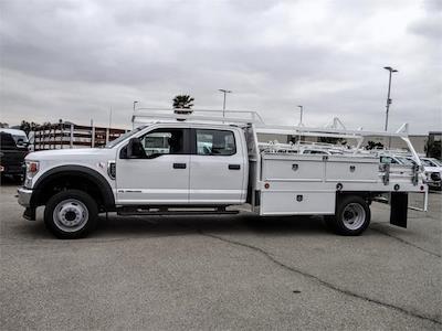 2021 Ford F-450 Crew Cab DRW 4x2, Scelzi CTFB Contractor Body #FM1673 - photo 3