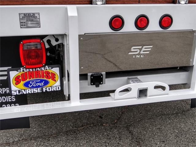 2021 Ford F-450 Crew Cab DRW 4x2, Scelzi WFB Stake Bed #FM1675 - photo 11