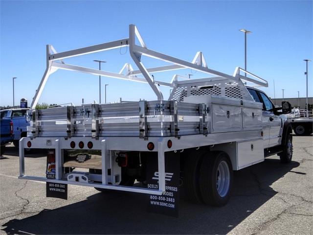 2021 Ford F-450 Crew Cab DRW 4x2, Scelzi CTFB Contractor Body #FM1744 - photo 4