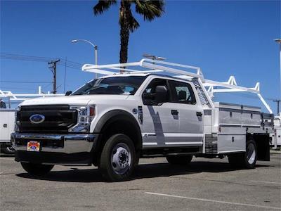 2021 Ford F-450 Crew Cab DRW 4x2, Scelzi CTFB Contractor Body #FM1744 - photo 1
