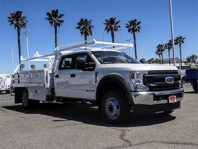 2021 Ford F-450 Crew Cab DRW 4x2, Scelzi CTFB Contractor Body #FM1744 - photo 6