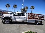 2021 Ford F-550 Crew Cab DRW 4x2, Scelzi WFB Stake Bed #FM1788 - photo 3