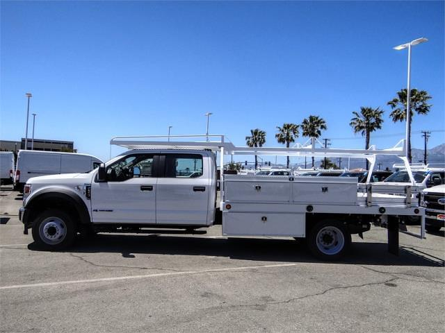 2021 Ford F-550 Crew Cab DRW 4x2, Scelzi CTFB Contractor Body #FM1790 - photo 3