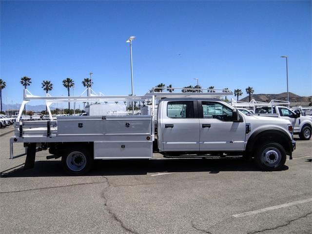 2021 Ford F-550 Crew Cab DRW 4x2, Scelzi CTFB Contractor Body #FM1790 - photo 5