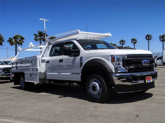2021 Ford F-550 Crew Cab DRW 4x2, Scelzi CTFB Contractor Body #FM1790 - photo 6