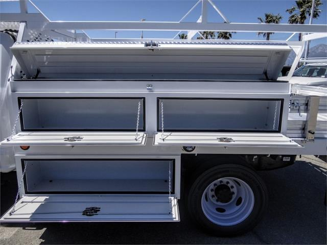 2021 Ford F-550 Crew Cab DRW 4x2, Scelzi CTFB Contractor Body #FM1790 - photo 8