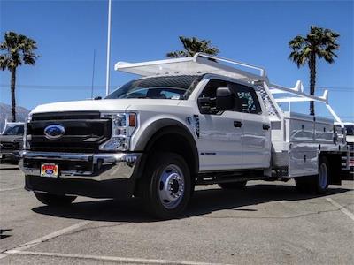 2021 Ford F-550 Crew Cab DRW 4x2, Scelzi CTFB Contractor Body #FM1790 - photo 1