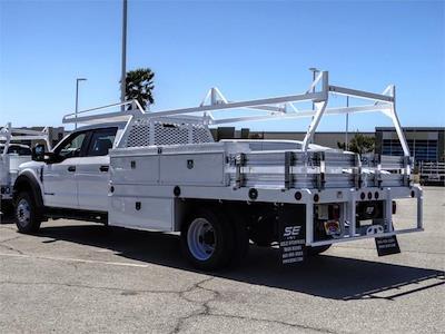 2021 Ford F-550 Crew Cab DRW 4x2, Scelzi CTFB Contractor Body #FM1790 - photo 2