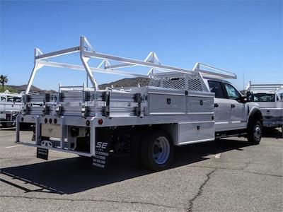 2021 Ford F-550 Crew Cab DRW 4x2, Scelzi CTFB Contractor Body #FM1790 - photo 4
