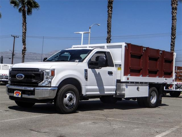 2021 F-350 Regular Cab DRW 4x2,  Royal Truck Body Platform Body #FM1821 - photo 1