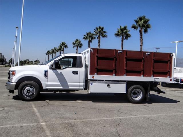 2021 F-350 Regular Cab DRW 4x2,  Royal Truck Body Platform Body #FM1821 - photo 3