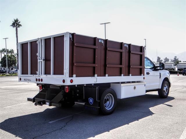 2021 F-350 Regular Cab DRW 4x2,  Royal Truck Body Platform Body #FM1821 - photo 4