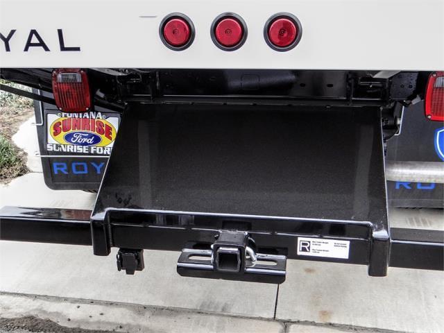 2021 F-450 Regular Cab DRW 4x2,  Royal Truck Body Landscape Dump #FM1824 - photo 10