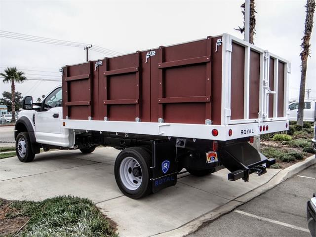 2021 F-450 Regular Cab DRW 4x2,  Royal Truck Body Landscape Dump #FM1824 - photo 2
