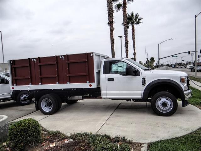 2021 F-450 Regular Cab DRW 4x2,  Royal Truck Body Landscape Dump #FM1824 - photo 5