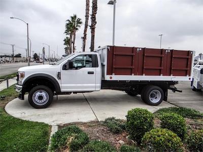 2021 F-450 Regular Cab DRW 4x2,  Royal Truck Body Landscape Dump #FM1824 - photo 3