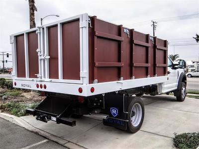 2021 F-450 Regular Cab DRW 4x2,  Royal Truck Body Landscape Dump #FM1824 - photo 4