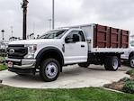 2021 F-450 Regular Cab DRW 4x2,  Royal Truck Body Landscape Dump #FM1824 - photo 1