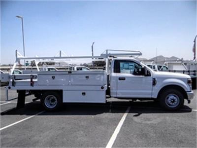 2021 Ford F-350 Regular Cab DRW 4x2, Scelzi CTFB Contractor Body #FM1881 - photo 5