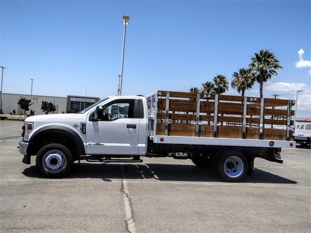 2021 Ford F-550 Regular Cab DRW 4x2, Royal Truck Body Stake Bed #FM1977 - photo 3