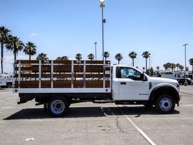 2021 Ford F-550 Regular Cab DRW 4x2, Royal Truck Body Stake Bed #FM1977 - photo 5