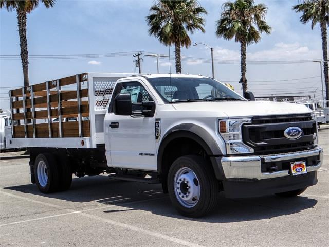 2021 Ford F-550 Regular Cab DRW 4x2, Royal Truck Body Stake Bed #FM1977 - photo 6