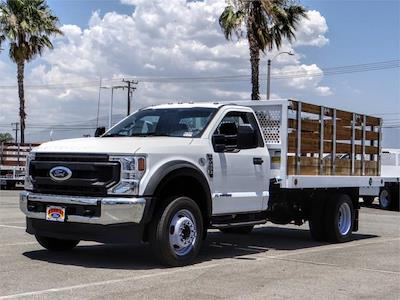 2021 Ford F-550 Regular Cab DRW 4x2, Royal Truck Body Stake Bed #FM1977 - photo 1