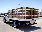 2021 Ford F-550 Regular Cab DRW 4x2, Royal Truck Body Stake Bed #FM1977 - photo 2