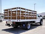 2021 Ford F-550 Regular Cab DRW 4x2, Royal Truck Body Stake Bed #FM1977 - photo 4