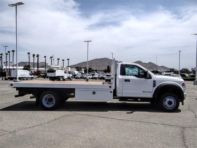 2021 Ford F-550 Regular Cab DRW 4x2, Royal Truck Body Platform Body Flatbed #FM1978 - photo 5