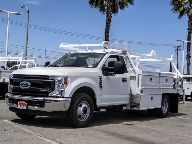 2021 Ford F-350 Regular Cab DRW 4x2, Scelzi Contractor Body #FM2010 - photo 1