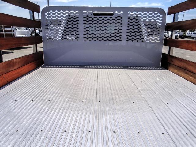 2021 Ford F-350 Crew Cab DRW 4x2, Scelzi WFB Stake Bed #FM2012 - photo 10