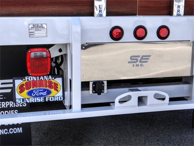 2021 Ford F-350 Crew Cab DRW 4x2, Scelzi WFB Stake Bed #FM2012 - photo 11