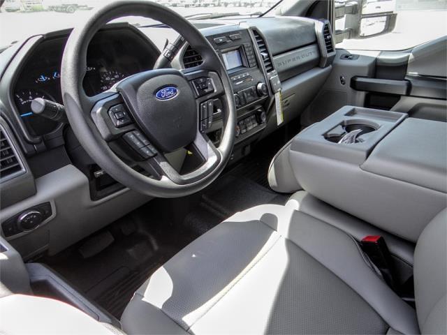 2021 Ford F-350 Crew Cab DRW 4x2, Scelzi WFB Stake Bed #FM2012 - photo 8