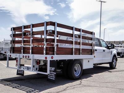 2021 Ford F-350 Crew Cab DRW 4x2, Scelzi WFB Stake Bed #FM2012 - photo 4