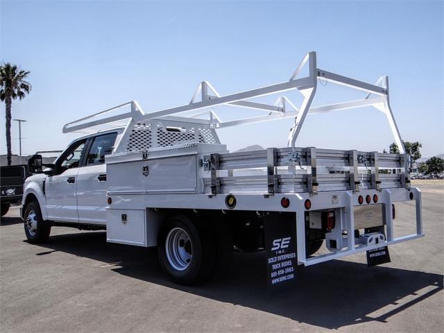 2021 Ford F-350 Crew Cab DRW 4x2, Scelzi Contractor Body #FM2038 - photo 1