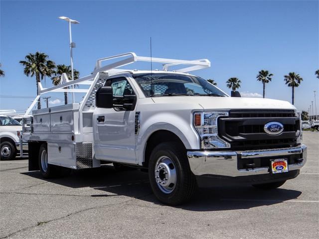 2021 Ford F-350 Regular Cab DRW 4x2, Scelzi CTFB Contractor Body #FM2058 - photo 6