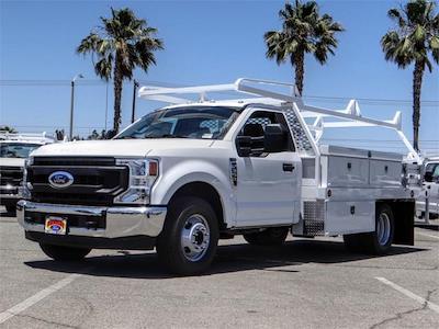2021 Ford F-350 Regular Cab DRW 4x2, Scelzi CTFB Contractor Body #FM2058 - photo 1