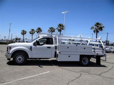 2021 Ford F-350 Regular Cab DRW 4x2, Scelzi CTFB Contractor Body #FM2058 - photo 3