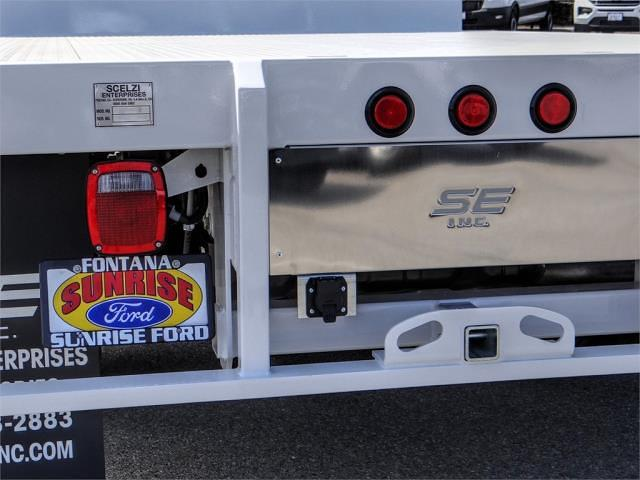 2021 Ford F-350 Regular Cab DRW 4x2, Scelzi Flatbed #FM2066 - photo 10