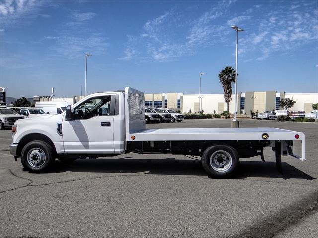 2021 Ford F-350 Regular Cab DRW 4x2, Scelzi Flatbed #FM2066 - photo 3