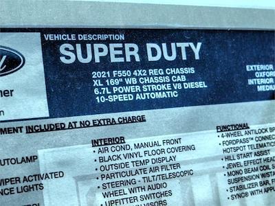 2021 Ford F-550 Regular Cab DRW 4x2, Scelzi WFB Flatbed #FM2203 - photo 13