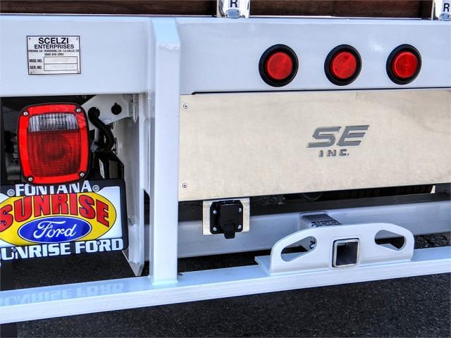 2021 Ford F-550 Regular Cab DRW 4x2, Scelzi WFB Stake Bed #FM2207 - photo 10