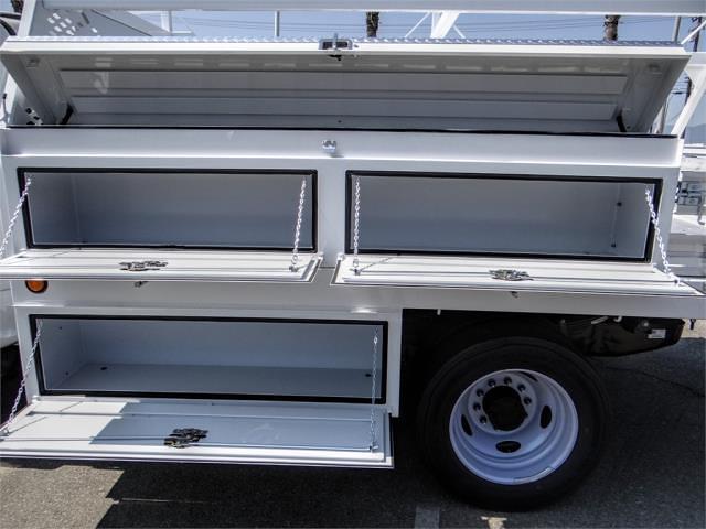 2021 Ford F-550 Regular Cab DRW 4x2, Scelzi CTFB Contractor Body #FM2308 - photo 9