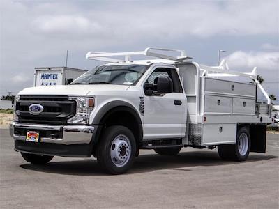 2021 Ford F-550, Scelzi Contractor Body