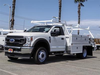 2021 Ford F-550 Regular Cab DRW 4x2, Scelzi CTFB Contractor Body #FM2308 - photo 1